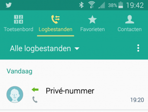 log telefoon - Edited